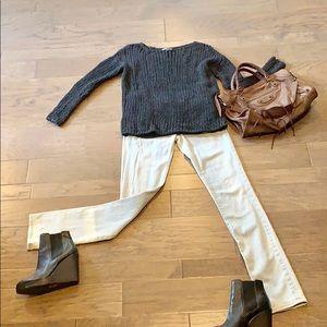 Tory Burch super skinny jeans size 26